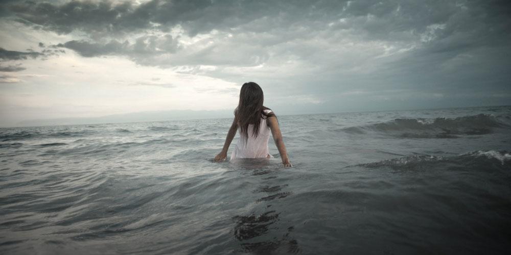 Girl-in-Ocean